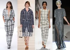 It's all about the Monochrome checks #Fashion #trend  http://fashion.telegraph.co.uk/galleries/TMG9839524/Fashion-trends-springsummer-2013-and-how-to-shop-them.html