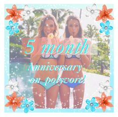 """5 MONTH ANNIVERSARY ON POLYVORE!!!!!(Read D)"" by ti-california-bae ❤ liked on Polyvore featuring moda"