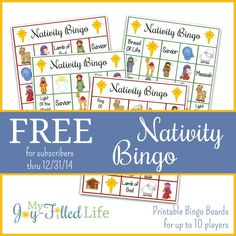 This week I'm bringing you 5 Days of Nativity Printables. Each day this week, I will have a new nativity themed printable for you. All you have to do to get these freebies is to subscribe to My Joy-Filled Life by email. Once you do, you will have access to ALL 5 nativity printables, …