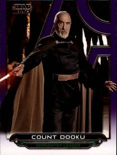2017 Star Wars Galactic Files Reborn Purple Parallel Singles (Pick Your Cards) Count Dooku, Star Wars, Darth Vader, Stars, Purple, Ebay, Fictional Characters, Sterne, Fantasy Characters