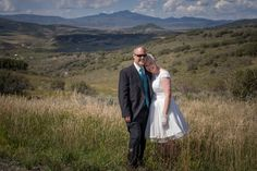 Mountain wedding in Steamboat Springs Colorado