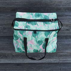 Cacti Square Cooler Bag – Liddy Lifestyle  .  #coolerbag #coolerbags #cacti #cactus #cactusprint #picnic