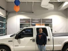 Tim's new 2005 Ford Super Duty! Congratulations and best wishes from Landmark Ford and Daniel Davidsmeier.
