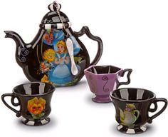 Alice in Wonderland Tea Set