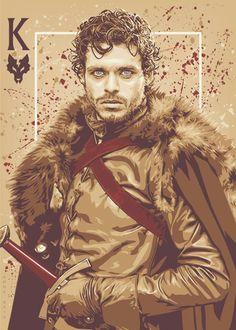 ♊️ •The King in the North ~ Artist: Ratscape @deviantART•