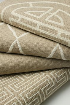 MING COLLECTION - Top to bottom: 4311 - Longevity is a Signature Exclusive upholstery contemporary geometric. Grey Wallpaper, Xiamen, Curtains With Blinds, Curtain Fabric, Master Bedroom, Burlap, Upholstery, Collage, Indoor