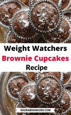 Weight Watchers Brownies, Dessert Weight Watchers, Weight Watchers Pumpkin, Weight Watchers Meal Plans, Weight Watcher Dinners, Ww Desserts, Healthy Dessert Recipes, Healthy Baking, Healthy Food