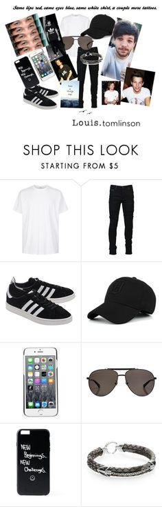 """""""Louis Tomlinson 💙🔥🖕😍❤️"""" by dmb0719 on Polyvore featuring Givenchy, Marcelo Burlon, adidas Originals, Kenzo, Gucci, StingHD, men's fashion and menswear"""