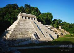 マヤ文明のピラミッドの下に水路発見、死者の国への通路か