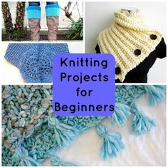 Knitting projects for beginners don't have to be plain garter stitch scarves that repeat the same row over and over. Yawn! Put those knits and purls to work in new ways with knitting projects for beginners that will keep you inspired — and prep you for those drool-worthy intermediate patterns!