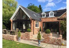 Gable End - Newcastle Upon Tyne Bungalow Extensions, Garden Room Extensions, House Extensions, House Extension Plans, House Extension Design, House Design, Extension Ideas, Garden Design, Barn Conversion Exterior