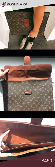8a24a4863de2 Authentic Louis Vuitton Ministe Poche Clutch