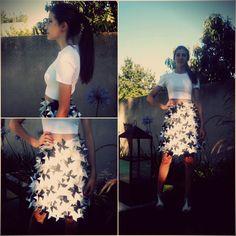 Desfile 2do año Waist Skirt, High Waisted Skirt, Floral, Skirts, Fashion, Pictures, Moda, High Waist Skirt, Skirt