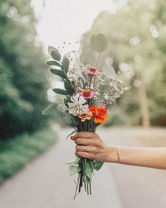 Fresh Flowers, Pretty Flowers, Wild Flowers, Bouquet Champetre, Artsy Photos, Wild Girl, Something Beautiful, Aesthetic Wallpapers, Garden Wedding