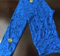 Lularoe Alice In Wonderland HTF Rose Blue Roses Yellow Roses Unicorn Rare NWT OS #Lularoe