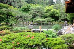 Garden of Ginkakuji.
