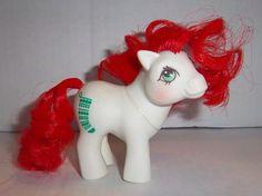 Vintage My Little Pony Baby Stockings  Mail by JennsHiddenJems