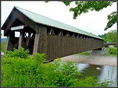Love covered bridges..