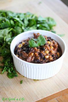 slow cooker bean and quinoa chili 1:Eatgood4life.com