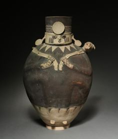 Vessel in the Shape of a Figure.Peru, Central Coast, Chancay sytle, 12th-15th century