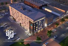 Visualization is expert in architectural rendering, walkthrough, architecural visualization, animation, interior design and realistic rendering Building Rendering, Exterior Rendering, 3d Building, 3d Rendering, Hotel Design Architecture, Commercial Architecture, Hotel Apartment, Apartments, Ac Hotel