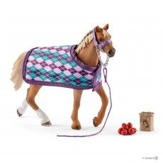 English Thoroughbred with blanket (42360)