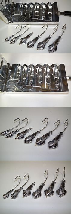 Tackle Craft 165931: Saltwater Squid Jig Mold 1, 2, 3, 4, 5 ,6Oz Cnc Aluminum -> BUY IT NOW ONLY: $200 on eBay!