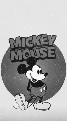 Mickey Mouse Wallpaper, Cartoon Wallpaper Iphone, Cute Disney Wallpaper, Wallpaper Samsung, Mobile Wallpaper, Dark Disney, Disney Love, Mikey Mouse, Classic Mickey Mouse