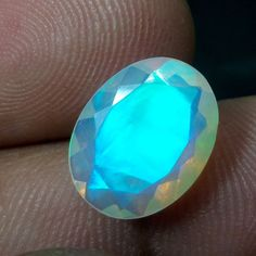 2.7 Carat Natural Ethiopian Multi-Color Fire Opal 13.1x10.2 MM Oval Cut Stone #Unbranded