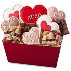 Gift Idea: Sweetheart's Cookie Box - Harry and David #pintowinGifts  @Gifts.com