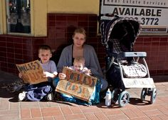 These unfortunate homeless children will most likely not have a fair opportunity to be successful in life.