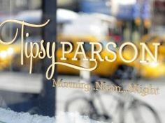 Tipsy Parson - Great Southern comfort food. Unforgettable Mac 'N Cheese and tasty brussel sprouts 2/14