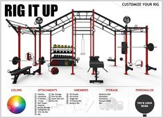 Best Rig ever made?! What do you think of this? Being able to customize allows you to take full advantage of your facilities specific needs.