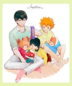 kagehina tumblr - Google Search