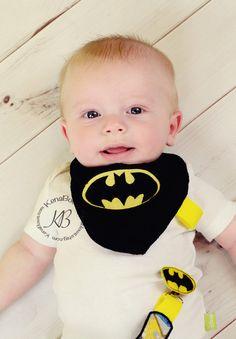 Baby Bib, Batman Bib, Superhero Bib, Bandana Bib, Baby Shower Gift, Binky Clip-Baby Bib, Batman Bib, Superhero Bib, Bandana Bib, Baby Shower Gift, Binky Clip, Boys Bib, Baby, Bib, Drool Bib, Handmade, Superhero, Batman