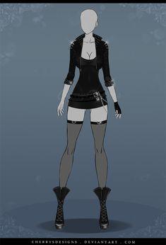 (RE-OPEN) Auction Adopt - Outfit 545 by CherrysDesigns.deviantart.com on @DeviantArt