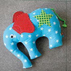 Elephantös Kissen - gratis Pdf Schnitt und Anleitung