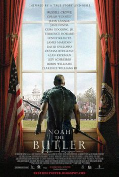NOAH THE BUTLER / A man is chosen by God to serve eight presidents as a butler before an apocalyptic flood destroys the world.