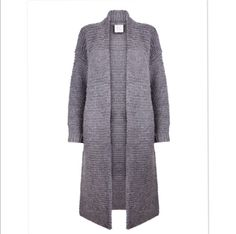 Handknitted maxi cardigan via D a m o y . E  - s h o p. Click on the image to see more!
