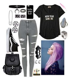 """""""Alternative Pink"""" by powermovesonly on Polyvore featuring Hollister Co., Topshop, Vans, Dsquared2, Polaroid, Marina Fini, Givenchy, ChloBo, Lauren Klassen and Gurhan"""