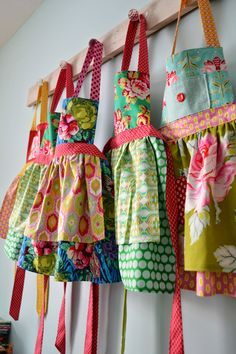 Colorful Cottage Aprons