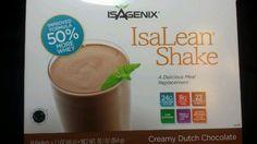 Isagenix Isalean® Shake Natural Creamy Dutch Chocolate – 14 X 1 Meal Packets X 2.1 oz, 30.1 oz…