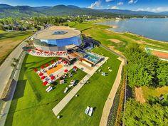 Thermalpark Šírava termálfürdő, a Szeles-tó üdülőövezetében (Zemplínska Šírava), Ungtavas községében. Baseball Field, Relax, Park, Sports, Commercial, Hs Sports, Parks, Sport