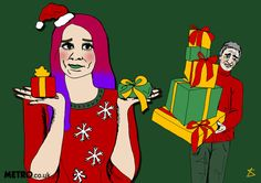 Christmas presents for different stages of your relationship