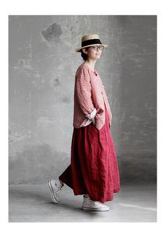 Japan Fashion, Boho Fashion, Girl Fashion, Womens Fashion, Diy Fashion Videos, Minimalist Fashion Women, Natural Clothing, Dress Making Patterns, Mode Inspiration