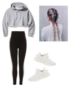 """Untitled #51"" by haileymagana on Polyvore featuring Frame, Topshop and Yeezy by Kanye West"