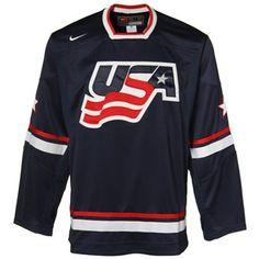 Team USA Hockey Jersey - Navy, Size S