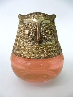 Avon Owl Fancy Rose Cologne Bottle in Original Box by @Denise H. H. H. H. #vett #vintage