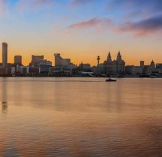 Liverpool Skyline, Liverpool Home, The Past, River, Celestial, Sunset, Outdoor, Outdoors, Sunsets