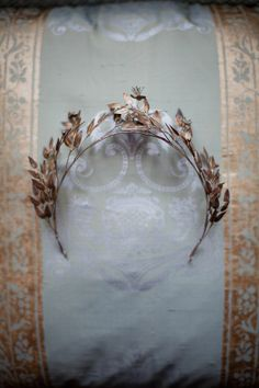 Rustic crown for my French castle.